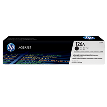 HP CE310A 126A Black LaserJet Toner Cartridge